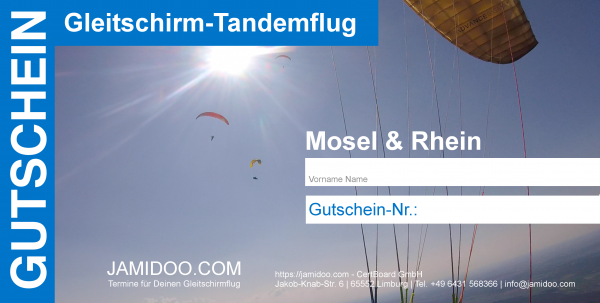 Gleitschirm-Tandemflug
