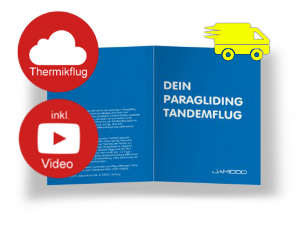 Thermik Gleitschirm-Tandemflug